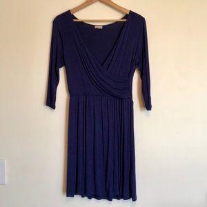 Faux wrap Pixley dress